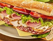 Sanduiche - Culinária - Photoshop