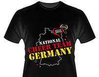 Trikot-Design: Cheerleading World Championships 2013