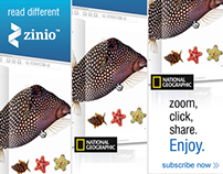 National Geographic Banner Ads