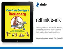 Zinio Book Publisher Tradeshow Collateral