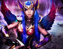 League of Legends Dark Valkyrie Diana Digital Art