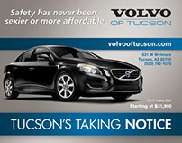 Volvo of Tucson Print Advertisements