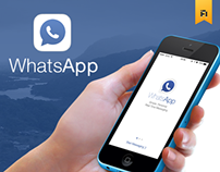 WhatsApp + Facebook UI/UX Concept