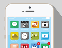 iOS 7 Flat Icons