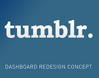 Tumblr Redesign Project