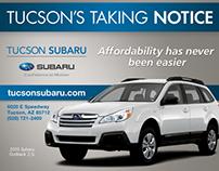 Tucson Subaru Print