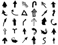 Arrows for Icons & Storyboards