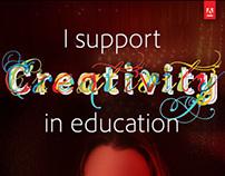 #CreateEdu Pledge Poster