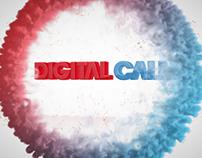 Digital Calm Motion Graphics Logo Opener