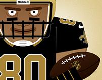 NFL - illustrazione vettoriale