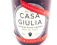 Package Design: Casa Giulia Jam