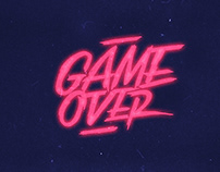 GAME OVER Multidevice wallpaper