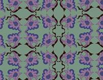 Repeat Pattern Design: IMPRESSIONIST