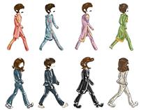 Evolution 9 - paper doll zine