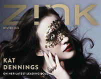 ZINK MAGAZINE / WINTER 2013