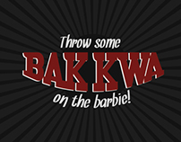 Throw some BAK KWA on the barbie!