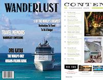 Wanderlust Magazine Prototype