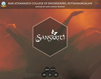 Brochure Design | Sanskriti '14