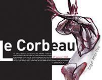"""""""Le Corbeau """" de Edgar Allan Poe"""