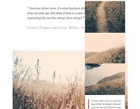 Skagen Tumblr Theme