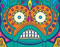 Los Amos Del Universo: Merman Sugar Skull