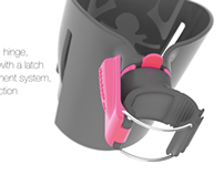 BOTTLE & CUP HOLDER for baby strollers