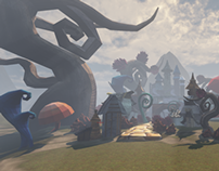 Real Time Design: Low-poly Fairy Tale Environment