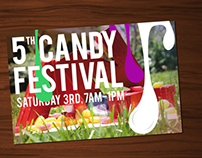 Candy Festival Poster
