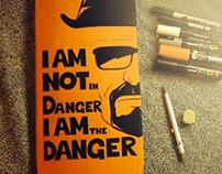 """Art In shape - Breaking Bad """"Danger"""""""