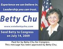 Betty Chu Campaign