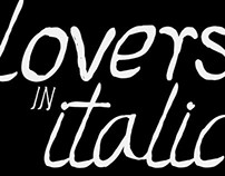 Lovers Italic Font