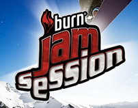 Burn // Jam Session Branding