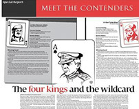 Publication Design: Special Reports in Express Tribune