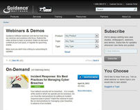 Guidance Software, Inc. Webinars & Demos 2012