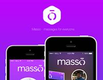 Masso App Concept