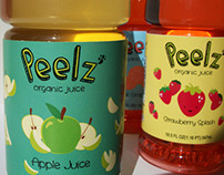 Packaging Design: Peelz Organic Juice
