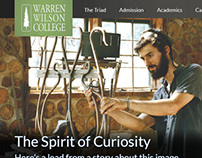 15 Years of Web Design for Warren Wilson College