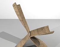 Wooden chair concept