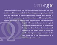 Omega: Early Letterform