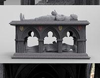 Gothic Transi Tomb