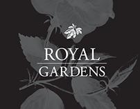 Royal Gardens Brand Identity