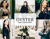 Oyster Mobile & Desktop Lightroom Presets