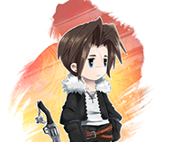 Final Fantasy VIII : Squall Leonhart