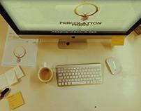 Percolation Press | Logo + Website