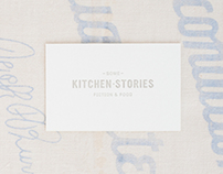 Some Kitchen Stories branding