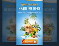 Travel & Vacations Web Banners
