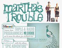 Martha's Trouble One Sheet