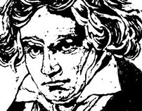 Beethoven Illustration