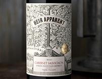 Heir Apparent Wine Label & Packaging Design