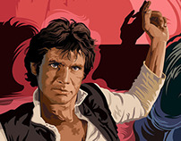 STAR WARS Han Solo Portrait